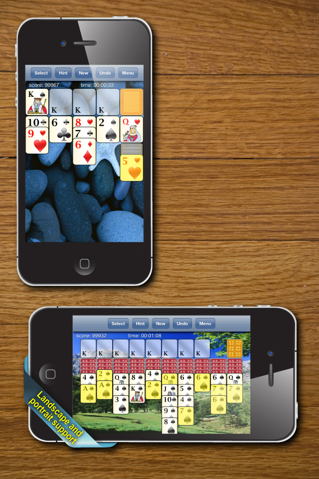 Screenshot 700 Solitaire Games