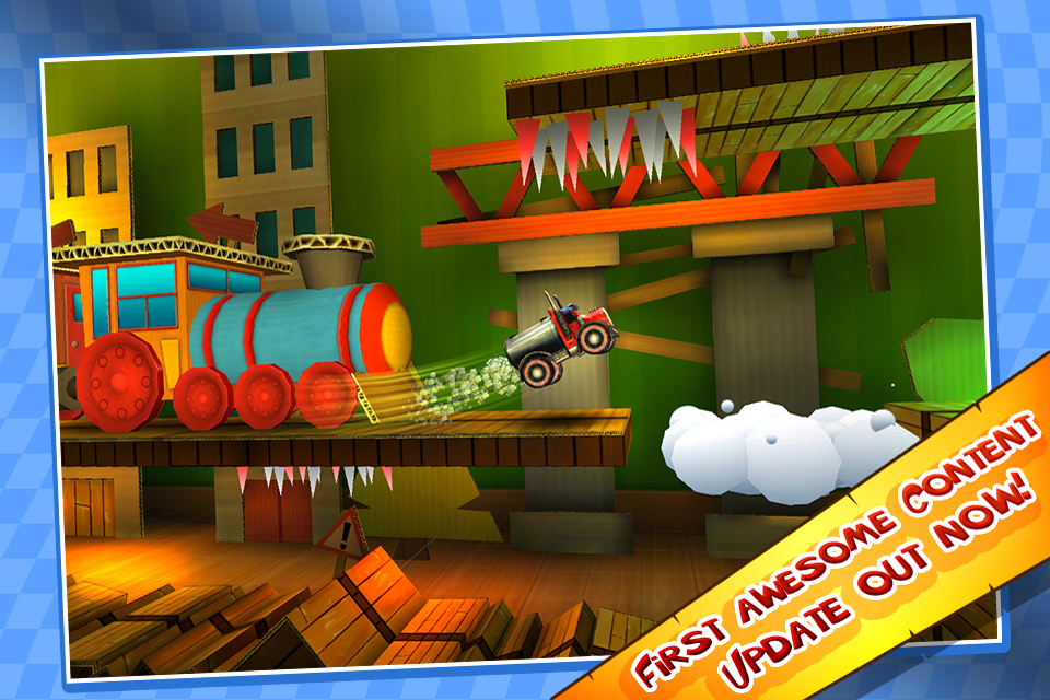 Free Pocket Trucks iPhone Game
